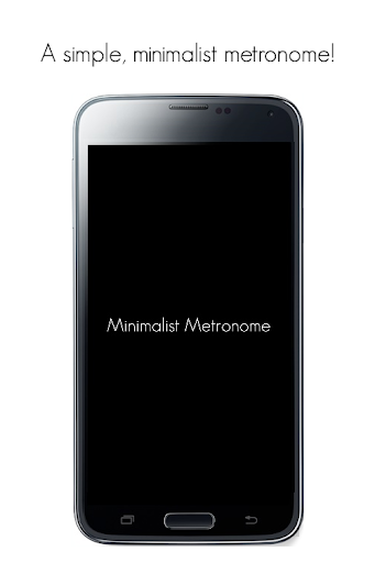 Minimalist Metronome