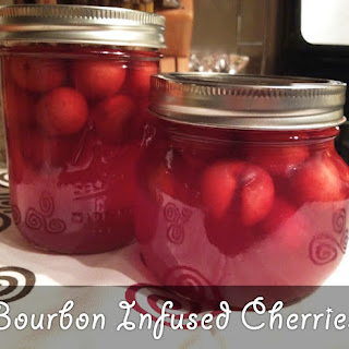 Bourbon Infused Cherries.