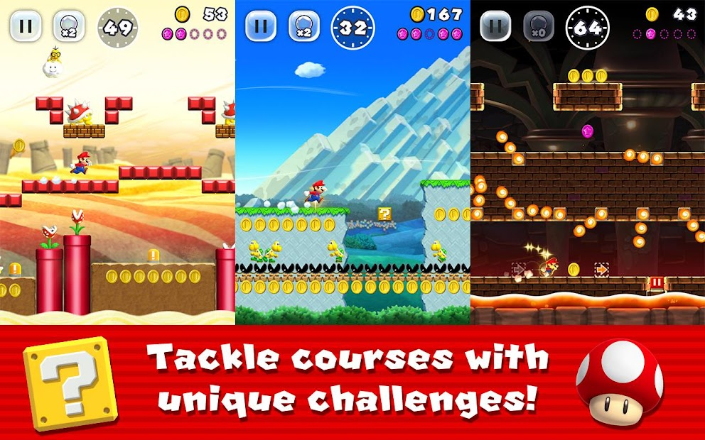 Super Mario Run Android App Screenshot