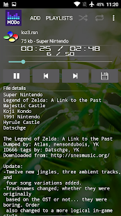 Modo - Computer Music Player- screenshot thumbnail