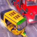 City Tuk Tuk Rikshaw 3D : Chingchi Simulator Drive icon