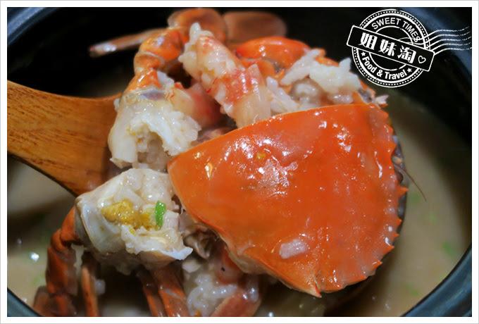 蔡家食堂潮州砂鍋粥紅蟳蟹膏粥2