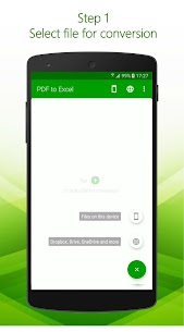 PDF to Excel – PDF File Converter with OCR 2