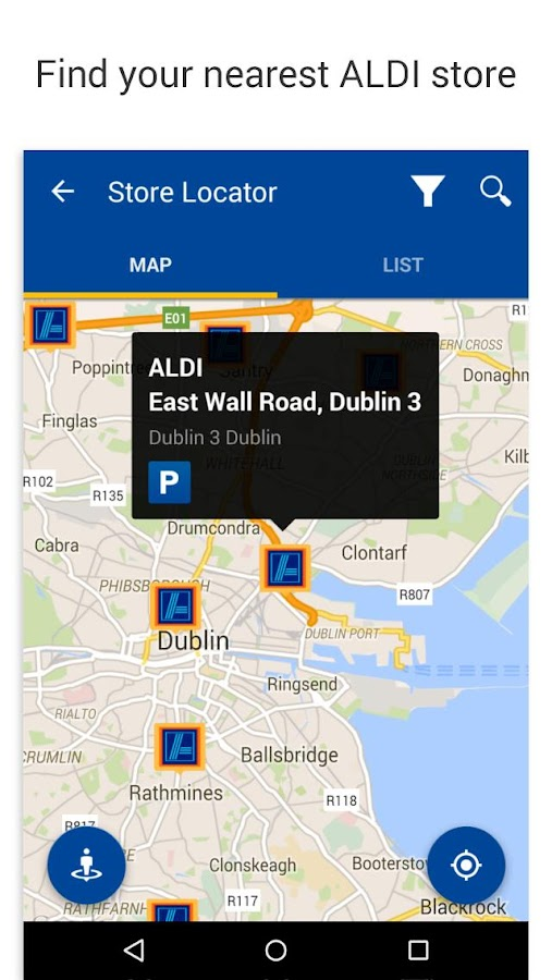 ALDI Ireland- screenshot