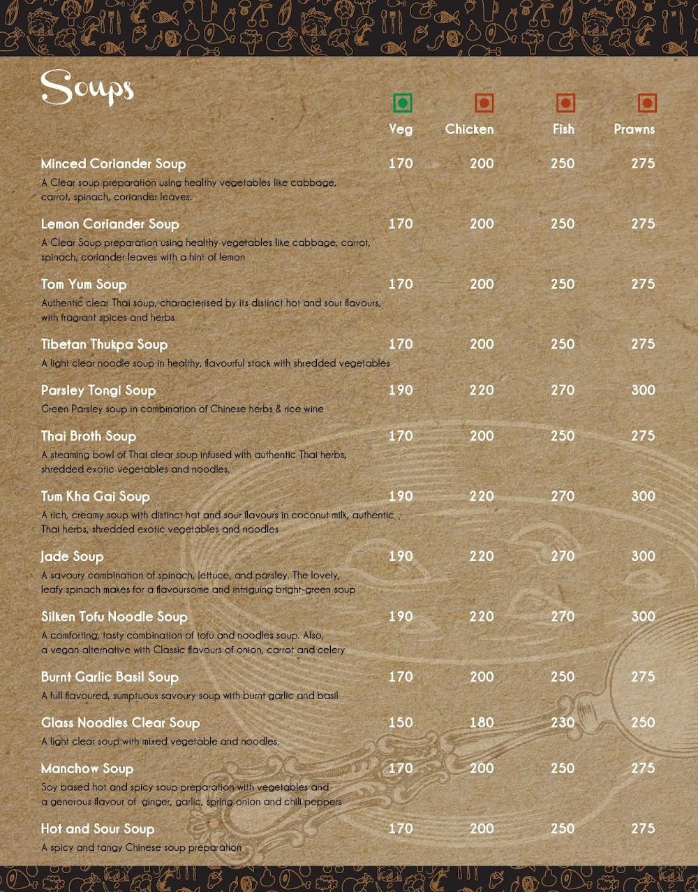 Spork menu 2
