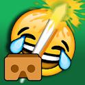 Emoji Samurai VR for Cardboard icon