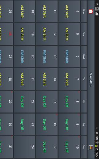 Work Roster 1.011 screenshots 11
