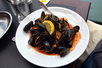 Photo: Lunch - local mussels
