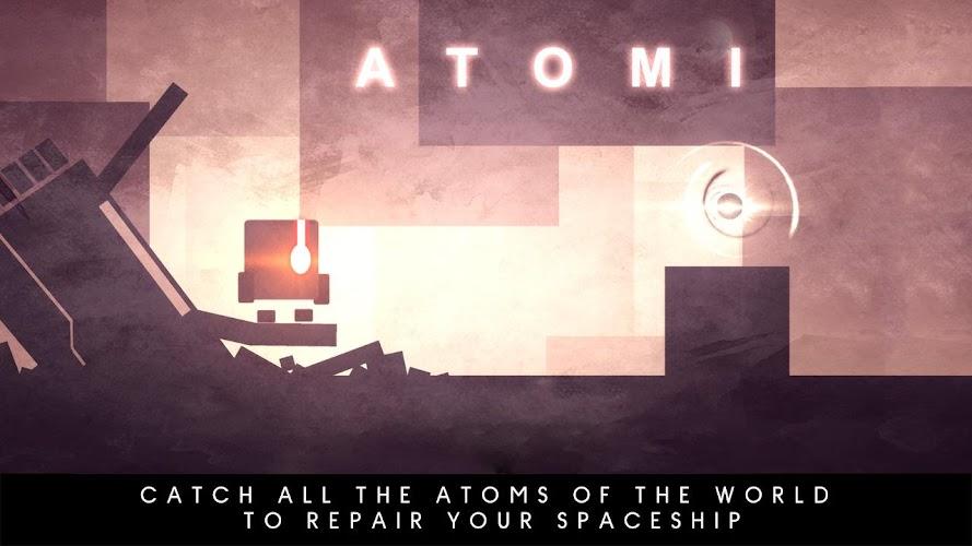 Atomi- screenshot