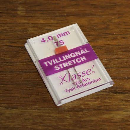 Tvillingnål Stretch 75/11