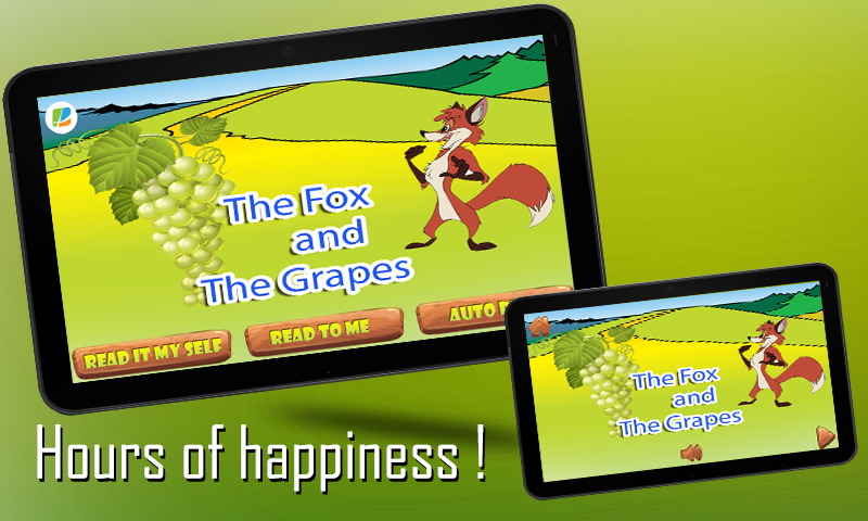 Fox and Grapes KidsStory pro- screenshot