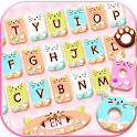 Colorful Donuts Button Keyboard Theme icon
