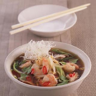 Hot and Sour Shrimp Soup.