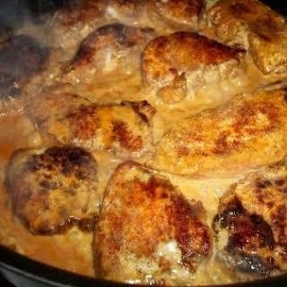 ~ Tasty Butter Cream Chicken Cutlets ~.