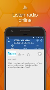Online Radio Box - free player- screenshot thumbnail