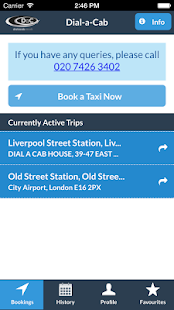 Dial-a-Cab- screenshot thumbnail