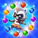 Raccoon Rescue Bubble Shooter icon