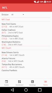 NFL Live Streaming - náhled