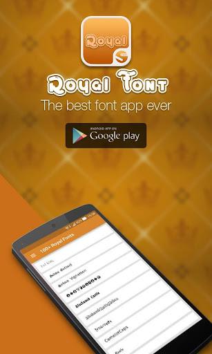 100+ Royal Font Root