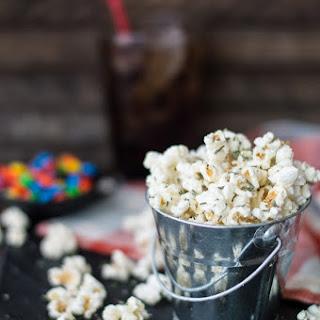 Rosemary & Parmesan Gourmet Popcorn.