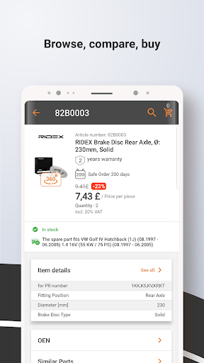Autodoc — High Quality Auto Parts at Low Prices 1.6.2 screenshots 7