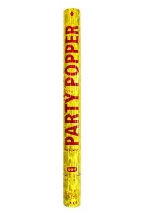 Konfettibomb, guld 57 cm