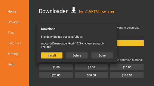 Downloader by AFTVnews 1.1.4 screenshots 2