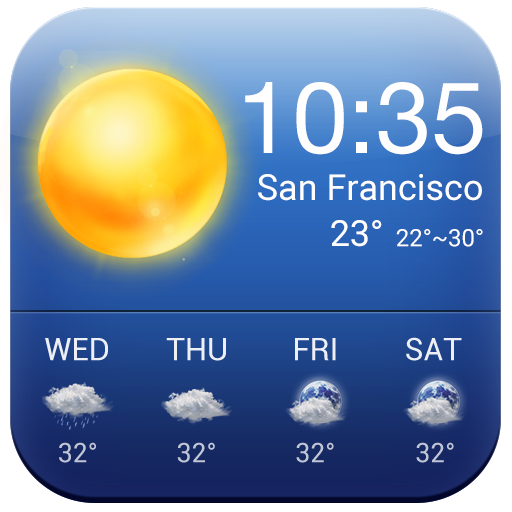 6 Day Real Time Weather Report