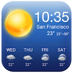 6 Day Real Time Weather Report Icon