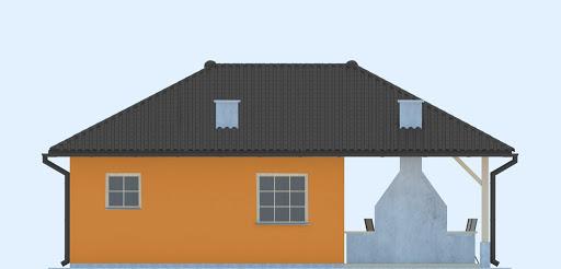 G246 - Budynek rekreacji indywidualnej - Elewacja lewa