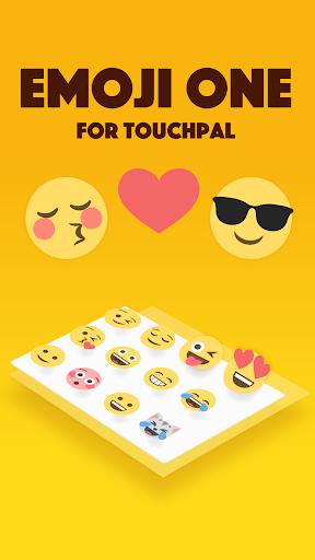 Emoji One TouchPal Plugin  screenshots 1