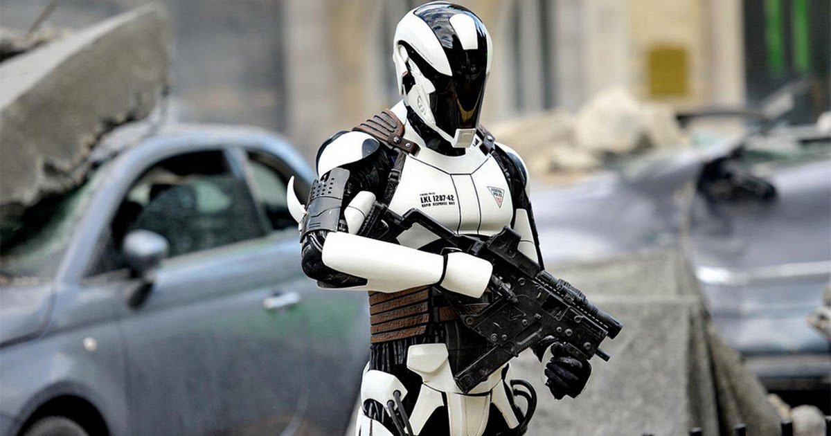 Korea The First Country With REAL Robocops...And They're Already In Use.