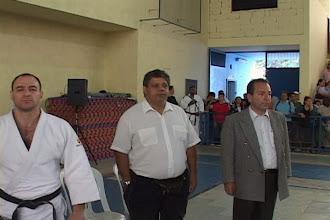 Photo: Prof. Luis Alberto dos Santos e Prof. Rubens Pereira - Festival Solidariedade de Judô no CC Jorge Bruder em Santo Amaro – 2007