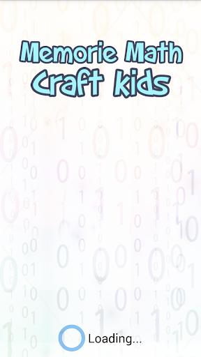 Memorie Math Craft Kids