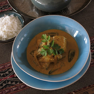 Nyonya Style Faux-Fish Curry.