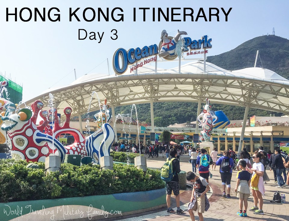 Hong Kong Itinerary Day 3 - Ocean Park