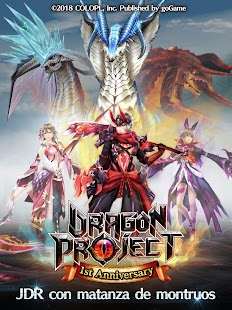Dragon Project Screenshot