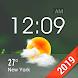 天気アプリ無料  天気ウィジェット - 一週間天気情報を届け