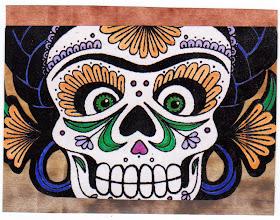 Photo: Wenchkin's Mail Art 366 - Day 197 - Card 197a
