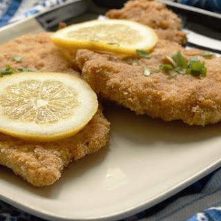 Healthier Chicken Schnitzel