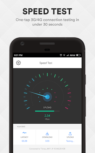 Smart Data Usage Monitor & Speed Test - smartapp screenshot 2