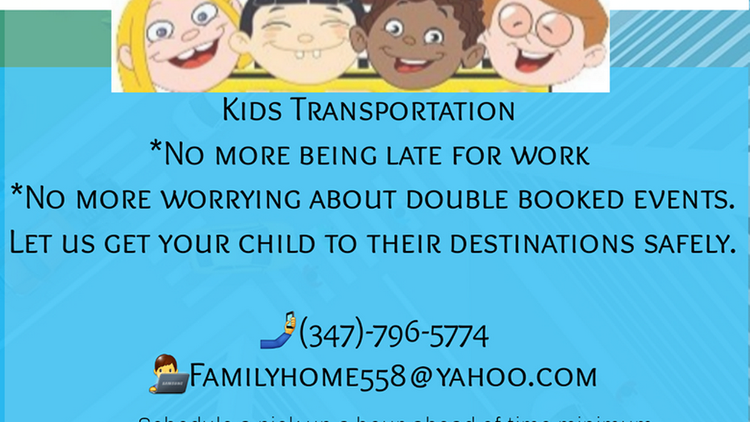 Kido Transportation - kids Transportation Service
