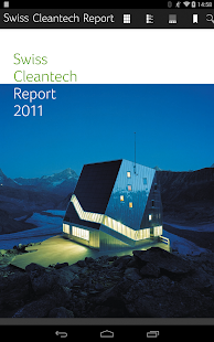 Swiss Cleantech Report – Vignette de la capture d'écran