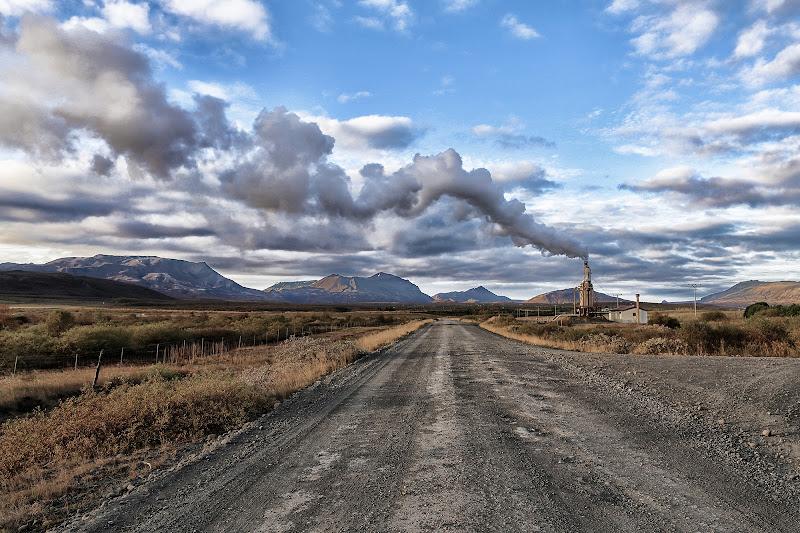 Islanda fumo e Nuvole di David Marrone