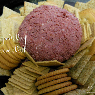 Chipped Beef Cheese Ball.