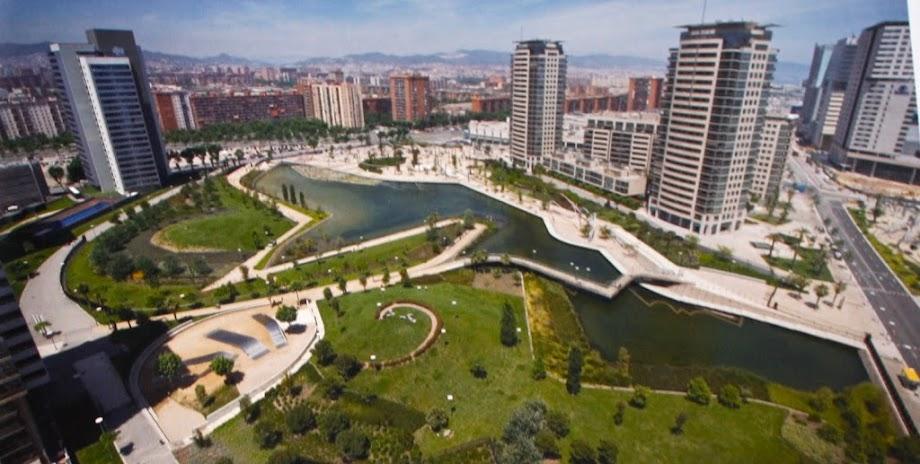 Foto Parque de Diagonal Mar 1