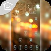 Beautiful blur light theme