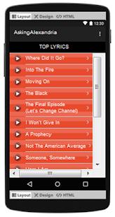 Asking Alexandria Top Songs & Hits Lyrics. - náhled