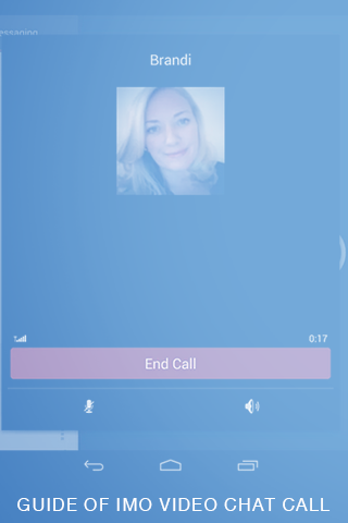 android Guide of imo Video Chat Call Screenshot 1