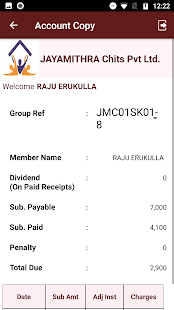Download Jayamithra Chits Member Module For PC Windows and Mac apk screenshot 4